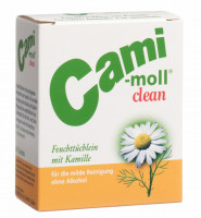 cami moll clean serviettes humides clean Feuchttücher Beutel 10 Stück