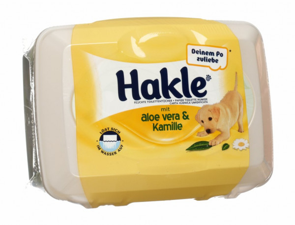 Hakle Feucht mit Aloe und Kamille, Box, 42 Stk