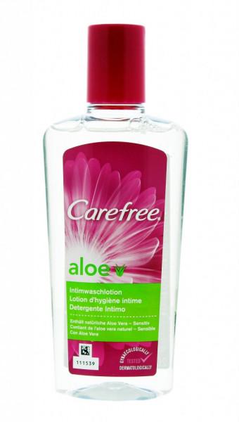 Carefree aloe lotion nettoyante intime
