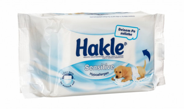 Hakle Feucht Sensitive Sauberkeit